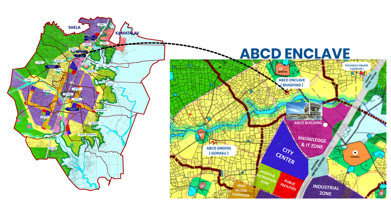 ABCD Enclave 1 Project Location Map