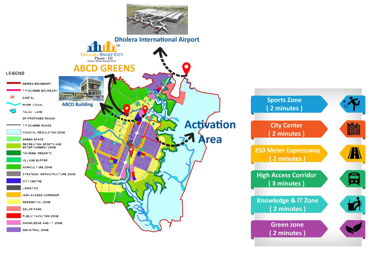 Location Map Dholera